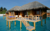 Jacuzzi water villa - Irufushi resort & spa